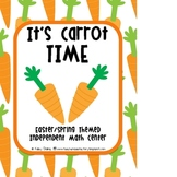 It's Carrot Time: Spring Math Center