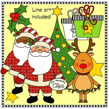 It's Christmas Clip Art Collection (Mix and Match)