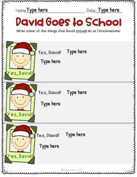 It S Christmas David Activities For K 2nd Grade