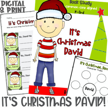 It's Christmas, David! Activities for K-2nd Grade, Christm