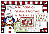 A Bundle of Christmas Math Games and Activities