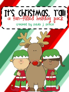 It's Christmas, Y'all! {A Fun-Filled Holiday Pack}