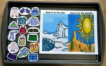 "Winter Adapted Books Unit-- ""It's Cold Outside"""