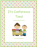 """It's Conference Time"" Editable Conference Forms to meet y"