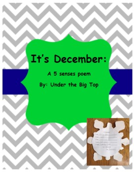 It's December: A 5 Senses Poem