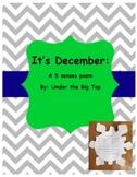 It's December: A 5 Senses Poem