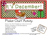 It's December! Pocket Chart Poetry Set