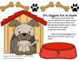 It's Doggone Fun to Count 0-10 Common Core Math Center K.CC.1, K.CC.3, K.CC.4