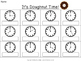 Telling Time to the Hour and Half Hour {Doughnut/Donut}
