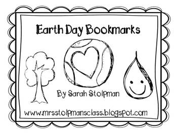 It's Earth Day! Bookmarks Freebie