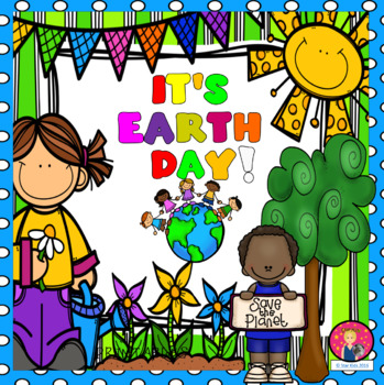 EARTH DAY PRINTABLES for Kindergarten and First Grade