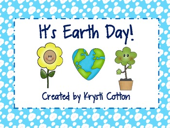 It's Earth Day! Vocabulary and Worksheets