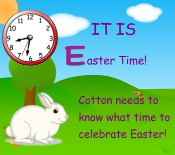 It's Easter Time