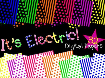 It's Electric! Digital Paper Bundle