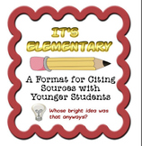 It's Elementary - Bibliography for the Youngest Students