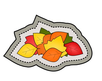 It's Fall! Autumn season clip art graphics sticker set - commercial use