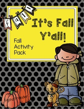 It's Fall Y'all! Activity Pack