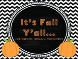 It's Fall Y'all - Fall/Halloween Literacy & Math Pack