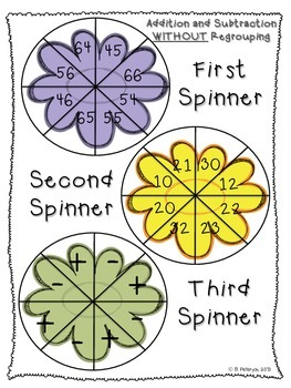 It's (Finally) Spring:  Springtime Math Activities