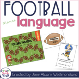Football Themed Language Activities for Speech Therapy