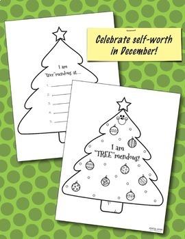 Self-Esteem Monthly Activities