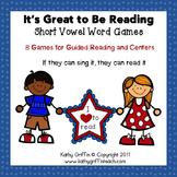 Short Vowels Games