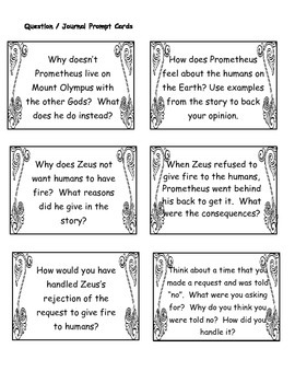 It's Greek to Me! - Prometheus, Bringer of Fire - Myths for Elementary Students
