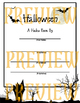 It's Halloween! A Writing Packet for Grades 1-4