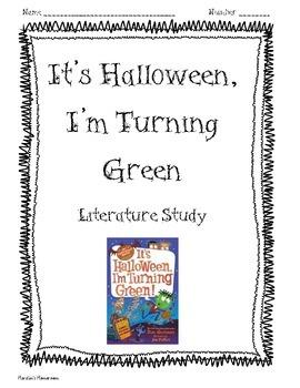 It's Halloween, I'm Turning Green