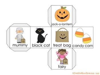 It's Halloween! Vocabulary On a Roll