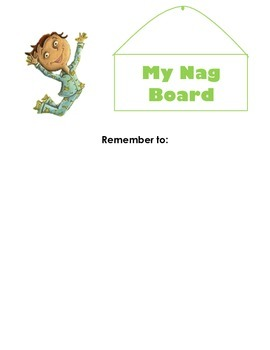 It's Hard to Be a Verb Nag Board