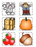 It's Harvest Time Beginning Sounds Game for Fall