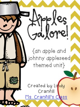 Apples Galore! {an apple and johnny appleseed themed unit}