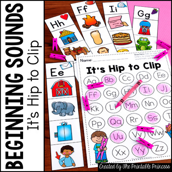 Beginning Sounds: It's Hip to Clip