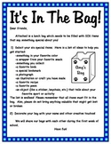 It's In The Bag Back To School Activity