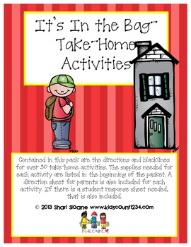 It's In the Bag - Take Home Activities