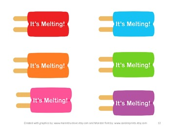 It's Melting! - A Math Game