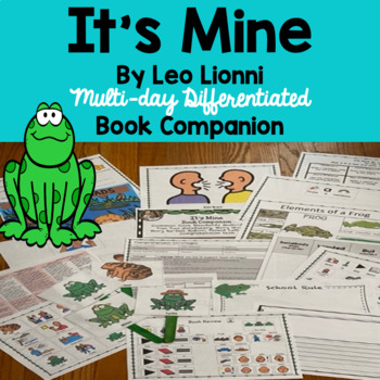 Common Core  Unit Using Literature  'It's Mine' Tier Two Vocabulary