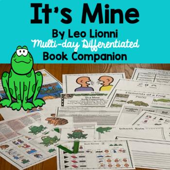 """It's Mine"" by Leo Lionni, Book Companion: Tier Two Vocabulary"