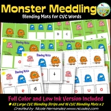 Blending CVC Words - Monster Meddling