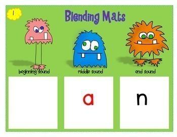 Blending CVC Words - Monster Meddling