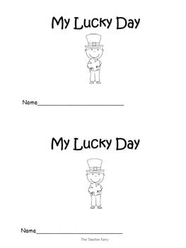 It's My Lucky Day- Emergent Reader