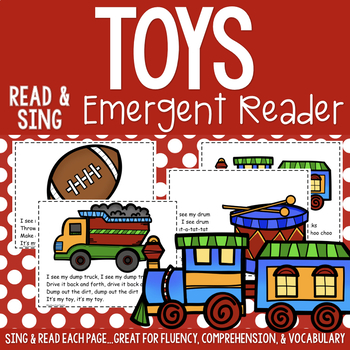 Toys Shared Reading Read & Sing Early Reader