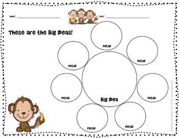 Brainstorming Sheet FREEBIE - It's No Monkey Business