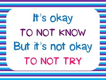 """It's Ok to Not Know..."""