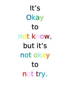 It's Okay sign
