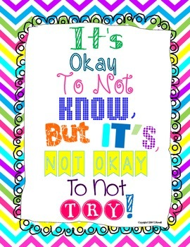 It's Okay to Not Know Poster