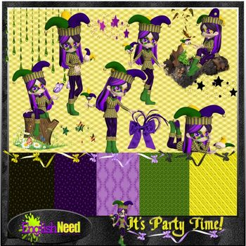 It's Party Time Graphic Collection