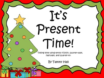 It's Present Time! Clock Review Game