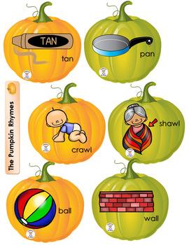Rhyming - Pumpkin Rhymes